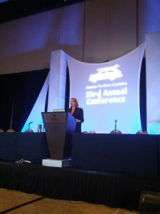 Speaking at the ATA conference in San Diego, October 2012
