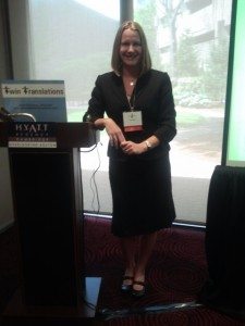 Presenting a pre-conference seminar at the NAJIT annual conference in Cambridge, MA, May 2012